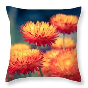 Release My Voice Throw Pillow by Sharon Mau