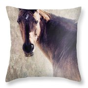 Reliability Throw Pillow by Betty LaRue