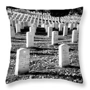 Religion Never Dies Throw Pillow by Greg Fortier