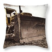 Restore The Shore Throw Pillow by Tom Gari Gallery-Three-Photography