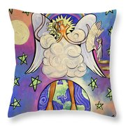 Revelation Chapter 10 Throw Pillow by Anthony Falbo