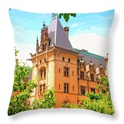 Revival Biltmore Asheville Nc Throw Pillow by William Dey