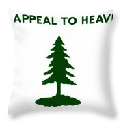 Revolutionary Flag, 1775 Throw Pillow by Granger