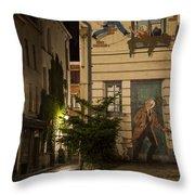 Ric Hochet Throw Pillow by Juli Scalzi