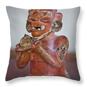 Rich Array Of Offerings Throw Pillow by Gary Keesler