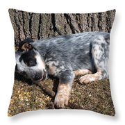 Ridiculously Cute Throw Pillow by James Peterson