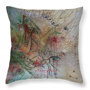 River Throw Pillow by Avonelle Kelsey