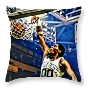 Robert Parish  Throw Pillow by Florian Rodarte