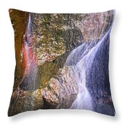Rocks And Water Throw Pillow by Elena Elisseeva
