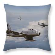'rolling Home' Throw Pillow by Pat Speirs