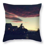 Rolling Through Throw Pillow by Laurie Search