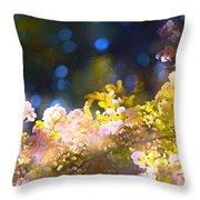 Rose 183 Throw Pillow by Pamela Cooper