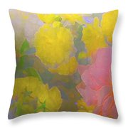 Rose 185 Throw Pillow by Pamela Cooper