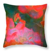Rose 187 Throw Pillow by Pamela Cooper
