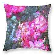 Rose 188 Throw Pillow by Pamela Cooper