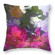 Rose 206 Throw Pillow by Pamela Cooper