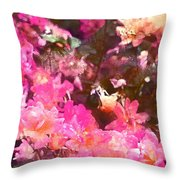 Rose 216 Throw Pillow by Pamela Cooper