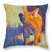 Rosie Throw Pillow by Tracy L Teeter