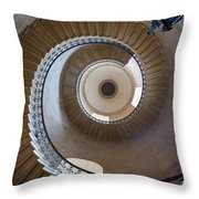 Round and Round Throw Pillow by Inge Johnsson