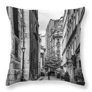 Route Parisian Throw Pillow by Georgia Fowler
