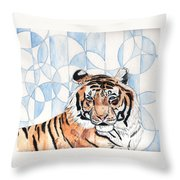 Royal Mysticism  Throw Pillow by Crystal Hubbard