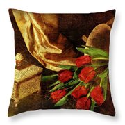 Royalty Throw Pillow by Diana Angstadt