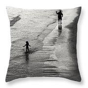 Running Wild Running Free Throw Pillow by Edward Fielding
