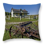 Rural Ontario Throw Pillow by Steve Harrington