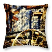 Rustic Decor Throw Pillow by Janine Riley