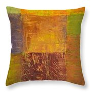 Rustic Layers 2.0 Throw Pillow by Michelle Calkins