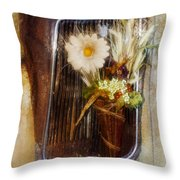 Rustic Romance Throw Pillow by La Rae  Roberts