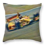 Ryan Hunter-reay Throw Pillow by Blake Richards