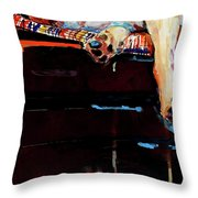 Sacked Throw Pillow by Molly Poole