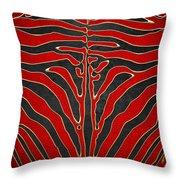Safari  Throw Pillow by Serge Averbukh