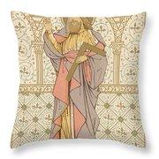 Saint Thomas Throw Pillow by English School