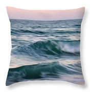 Saltwater Soul Throw Pillow by Laura Fasulo