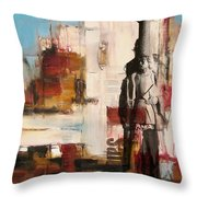 San Diego City Collage 2 Throw Pillow by Corporate Art Task Force