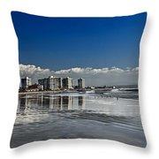 San Diego Throw Pillow by Robert Bales