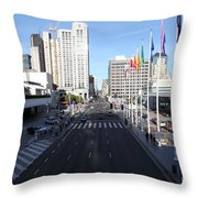San Francisco Moscone Center And Skyline - 5d20513 Throw Pillow by Wingsdomain Art and Photography