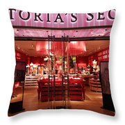 San Francisco Victoria's Secret Store - 5d20652 Throw Pillow by Wingsdomain Art and Photography