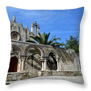 San Giovanni Alle Catacombe In Siracusa Throw Pillow by RicardMN Photography