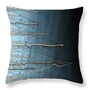 Sausalito Bay California. Stormy. Throw Pillow by Ausra Huntington nee Paulauskaite