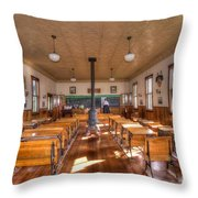 Schools Out For Summer   Throw Pillow by L Wright