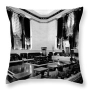 Scottish Rite Masonic Temple in Washington D.C. Throw Pillow by Mountain Dreams