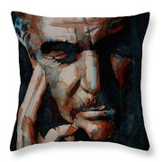Sean Connery  Throw Pillow by Paul Lovering