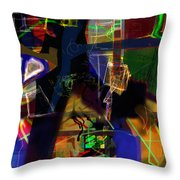 search for the straying son 11 Throw Pillow by David Baruch Wolk