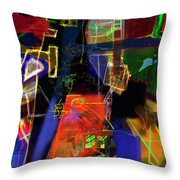 search for the straying son 13 Throw Pillow by David Baruch Wolk