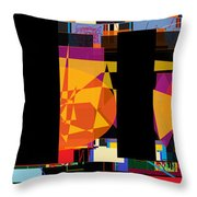 Search For The Straying Son 7 Throw Pillow by David Baruch Wolk