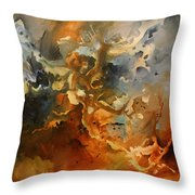 'searching For Chaos' Throw Pillow by Michael Lang