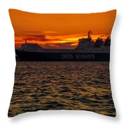 Seaways Throw Pillow by Svetlana Sewell